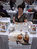 Tracey signing Zinfandelity at the RT Readers Convention 2013 Kansas City